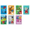 Interdruk Iskolai füzet-vegyes mintákkal - A5 16 lap Angry Birds Rio színes vona