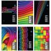 Interdruk Jegyzettömb perforált-vegyes mintákkal-A4+ 80 lap micro kockás <5db/ cs