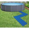 Intex 8 darab kék medencealj védő 50 x 50 cm