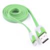 iPhone5 komaptibilis USB adatkábel zöld