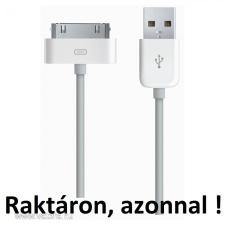 iPhone 4 2G 3G 3GS iPod USB KÁBEL TÖLTŐ adatkábel IPAD adat 1év gari 4S MP3 MP4 MP5 data tablet kellék