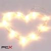IRIS Szív alakú 305-02 meleg fehér led-es tapadókorongos fénydekoráció