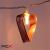 IRIS Szív alakú fém 240-09 meleg fehér led-es usb-s fénydekoráció