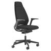 """. Irodai szék, fejtámlás, állítható karfával, fekete lábkereszt """"1890 INFINITY"""", fekete"""