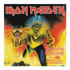 Iron Maiden The Number Of The Beast (CD) heavy metal