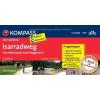 Isarradweg - (von Mittenwald nach Deggendorf) kerékpáros túrakalauz - Kompass FF 6434