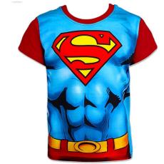 ismeretlen Superman: rövid ujjú póló - 110 méret, kék