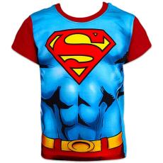 ismeretlen Superman: rövid ujjú póló - 116 méret, kék