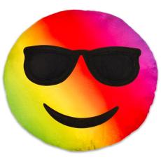 ismeretlen Szivárványos napszemüveges emoji párna