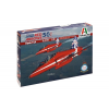 Italeri Hawk T1A Red Arrows 50 display seasons katonai repülő makett Italeri 2747