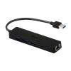 iTec USB 3.0 Metal HUB 3 Port with Gigabit Ethernet Adapter