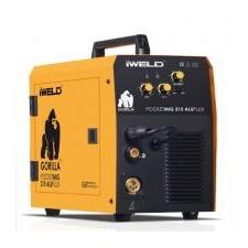Iweld Gorilla PocketMig 215 Aluflux elektródás hegesztő inverter hegesztés