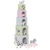Jabadabado Toronyépítő kocka háziállatokkal Jabadabado