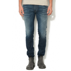 Jack Jones Jack&Jones, Man Tim kék slim fit farmernadrág, W31-L32 (12111171-BLUE-DENIM-W31-L32)
