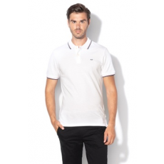 Jack Jones Jack&Jones, Slim fit galléros póló, Fehér, XL (12136522-WHITE-XL)
