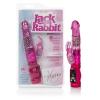 Jack Rabbit Starter - forgó gyöngyös, nyuszis vibrátor (lila)