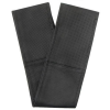 Jacky Auto Kormányvédő, fűzős, fekete- perforált fekete XL, 41-42 cm (KC)