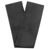 Jacky Auto Kormányvédő, fűzős, fekete- perforált fekete XXL, 43-44 cm (KC)