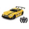 Jamara Távírányítós transformer kisautó - Mercedes-AMG GT3 1:14 fénnyel és hanggal, sárga 410029 Jamara