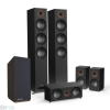 Jamo S 809 HCS + S 810 SUB 5.1 hangfalszett, fekete kőris