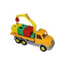Játék kukásautó 47cm autópálya és játékautó