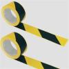 Jelzőszalag, 70 mm x 200 m, sárga -fekete