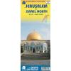 Jeruzsálem és Észak-Izrael térkép - ITM