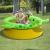 JILONG 175x62 cm 1270 L felfújható spriccelős medence teknős alakú