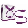 JimmyJane Jimmyjane Ascend 7 - akkus, vízálló dupla vibrátor (lila)