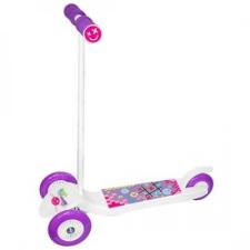Junior Twist háromkerekű roller - fehér roller