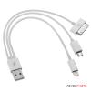 Jupio 3in1 univerzális USB kábel