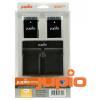 Jupio utángyártott akkumulátor (Nikon EN-EL14/EN-EL14A) és USB Dual Charger Kit