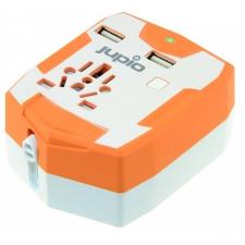 Jupio világutazó adapter külső akkumulátor 6000mAh (2db USB csatlakozóval) mobiltelefon kellék