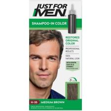Just For Men Shampoo-In hajszínező, közép barna H-35 hajfesték, színező