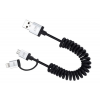 Just Mobile DC189 Alucable Duo twist kábel USB Just Mobile