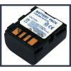 JVC GR-DF430 7.4V 1200mAh utángyártott Lithium-Ion kamera/fényképezőgép akku/akkumulátor