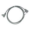 Kábel: Micro USB szürke szövet adatkábel 1m