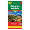 Kalábria / Calabria térkép / freytag & berndt