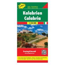 Kalábria / Calabria térkép / freytag & berndt térkép