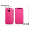 Kalaideng HTC One M8 flipes tok - Kalaideng Enland Series - dark pink
