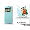 Kalaideng LG L70 D320N flipes tok - Kalaideng Iceland 2 Series View Cover - turquoise blue