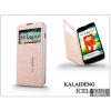 Kalaideng LG L90 D405 flipes tok - Kalaideng Iceland 2 Series View Cover - golden