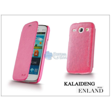 Kalaideng Samsung i8260 Galaxy Core flipes tok - Kalaideng Enland Series - dark pink tok és táska