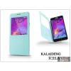 Kalaideng Samsung SM-N910 Galaxy Note 4 flipes tok - Kalaideng Iceland 2 Series View Cover - turquoise blue