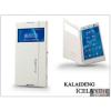 Kalaideng Sony Xperia C3 (D2533) flipes tok - Kalaideng Iceland 2 Series View Cover - white