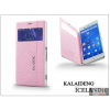 Kalaideng Sony Xperia Z3 (D6603) flipes tok - Kalaideng Iceland 2 Series View Cover - pink