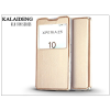 Kalaideng Sony Xperia Z5 (E6653) flipes tok - Kalaideng Sun Series View Cover - golden
