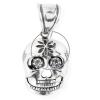 Kalóz koponya ezüst medál