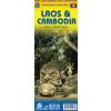 Kambodzsa és Laosz térkép - ITM
