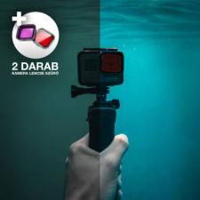 Kamera lencse szűrő búvárkodáshoz, GoPro Hero 3+ és 4 kamerákhoz videókamera kellék